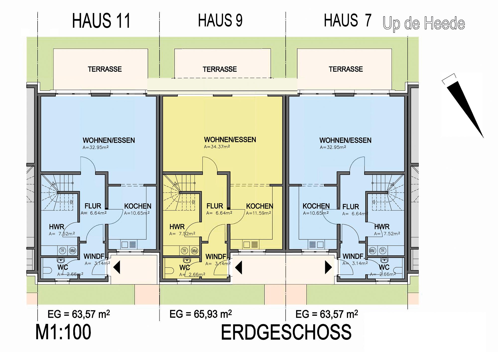 Erfolgreich Verkauft U2013 Reihenhaus Bezahlbar U0026 Modern In Osnabrück Belm